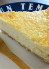 FPで簡単★しっとりチーズケーキ