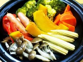 タジン鍋 温野菜