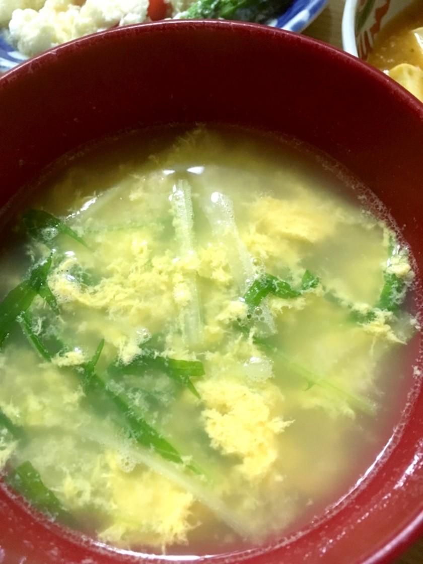 簡単☆お急ぎたまごスープ☆