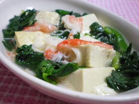 ◆豆腐の簡単あんかけ◆
