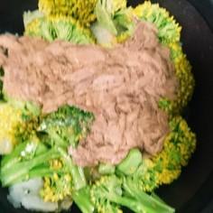 ツナの温野菜サラダ