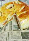 大きなりんごパン