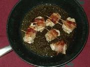 チキンのベーコン巻の写真