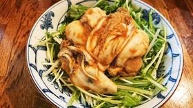 牡蠣の酢味噌和え