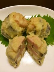 なすの天ぷらをアレンジ☆地球なすの写真
