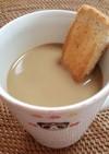 トースト IN カフェ・オ・レ