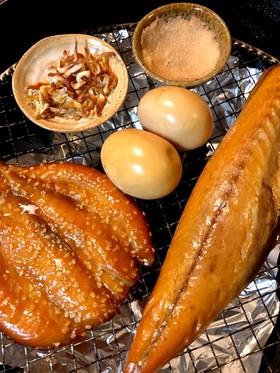 中華鍋で室内簡単燻製作り♬