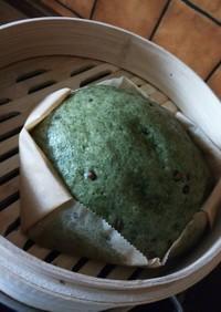 ヨモギの蒸しパン