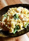 ゆで卵を茹でずに作れる⁉エビと卵のサラダ