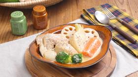 冬野菜の豆乳みそポトフ