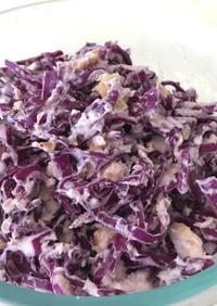 ☆紫キャベツの檸檬クリームチーズサラダ☆