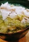 豚バラとレタスのガーリックコンソメスープ