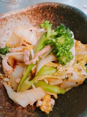 【身体喜ぶレシピ】白菜のカレー炒め