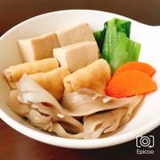 入れて煮るだけ!高野豆腐の簡単減塩煮物の写真