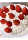 超基本の簡単ショートケーキ