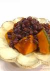 ゆで小豆de簡単♡かぼちゃのいとこ煮♡