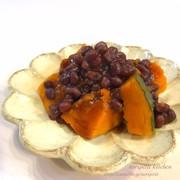 ゆで小豆de簡単♡かぼちゃのいとこ煮♡の写真