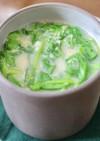 ほうれん草とオーツミルクのスープ♪
