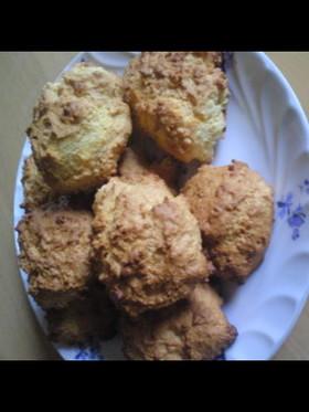 カリカリふわふわハニーパンクッキー