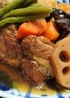 豚肩ロース塊りと大根と根菜のホロッと煮