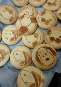 プレゼントにスヌーピーなど模様クッキー