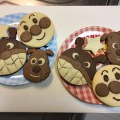 子供が大好きアンパンマンクッキー