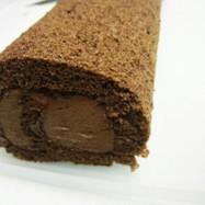 簡単★チョコレートロールケーキ♪