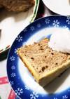 簡単マーブルシフォンケーキ