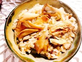 簡単!鯖の水煮缶と舞茸の炊き込みご飯♡