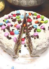 簡単!子供も喜ぶサプライズケーキ!