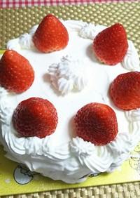 ★糖質オフ!手作り*クリスマスケーキ*♪