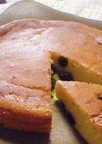 大人の香り♪ラムレーズンチーズケーキ