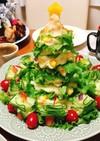クリスマス☆ツリーサラダとピンチョス☆