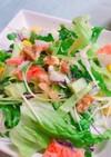 切るだけ簡単!カニカマと彩り野菜のサラダ