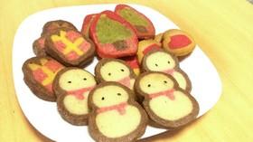 可愛い!クリスマスアイスボックスクッキー