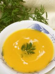 バターナッツの濃厚スープの写真
