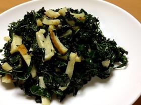 カーボロネロの炒め物(黒キャベツ)