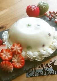 ワクワクするババロアドームケーキ♪