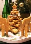 クッキーのクリスマスツリー&トナカイ