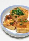 もっちりチヂミ粉で、揚げない揚げ出し豆腐