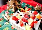 レンジで簡単カスタード☆スコップケーキ
