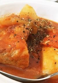 ストウブで簡単★ブロック肉と野菜のポトフ