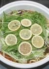 簡単☆さっぱり☆乾燥レモンの塩ちゃんこ鍋