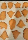 クリスマスのジンジャークッキー