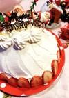 簡単♪♪可愛い♡クリスマスドームケーキ