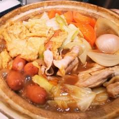 カレーからのカレー鍋!コラからの旬は鍋で