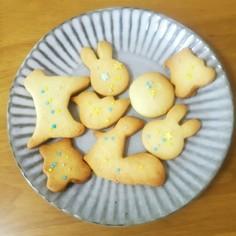 サクサク★型抜きクッキー