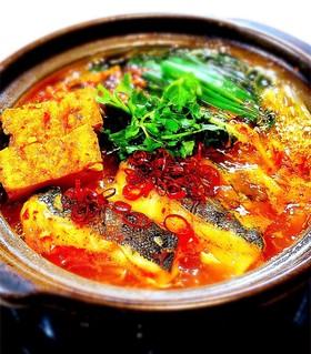 タラの豆板醤鍋