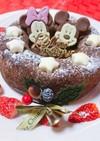 ♡簡単すぐ作れるクリスマスリースケーキ♡