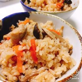 簡単♡鶏ときのこの炊き込みご飯♡
